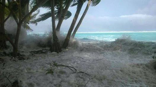 Cyclone Pam meets Tuvalu
