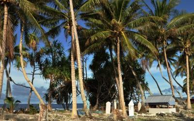 Cemetery, Fongafale Island, Funafuti Atoll, Tuvalu