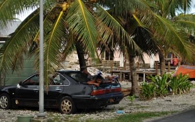 Hanging out, Funafuti Atoll, Tuvalu