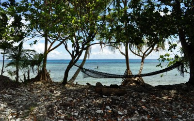 Hammock with a view, Funafuti Atoll