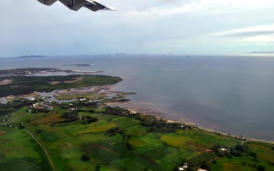 Taking off from Nadi