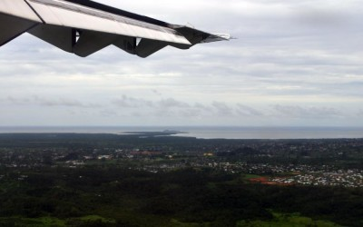 Landing in Suva