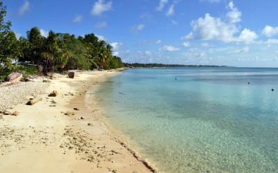 Funafuti Lagoon from near the Vaiaku Lagi Hotel