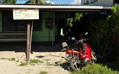 Internet Cafe, Vaiaku, Funafuti Atoll, Tuvalu
