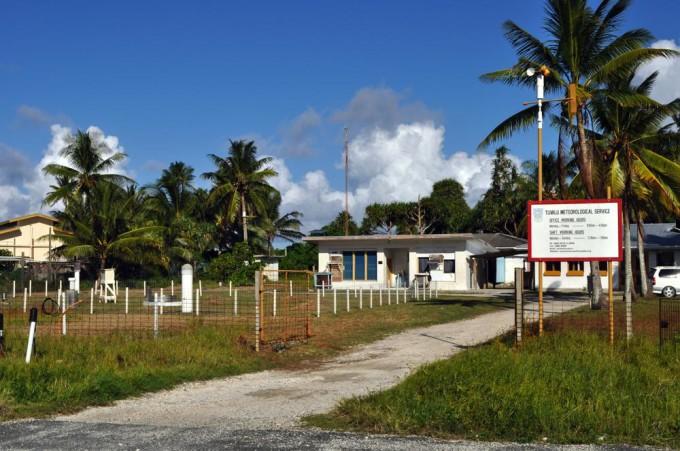The weather in Funafuti