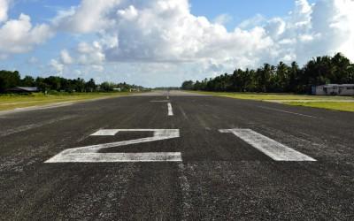 Funafuti Atoll runway, Tuvalu