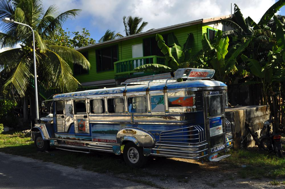 Escaped Jeepney in Funafuti
