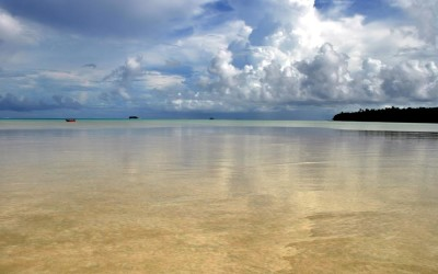 Funafuti Lagoon from Funafala Island, Tuvalu