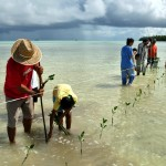 Tuvalu Odyssey photo on IPCC report front cover