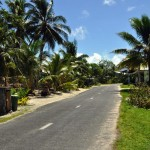 The streets of Funafuti